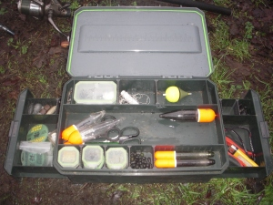 A tidy tackle box