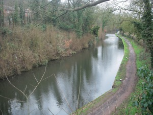 The Staffs/Worcs Canal in winter