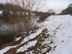 Snow on the Severn