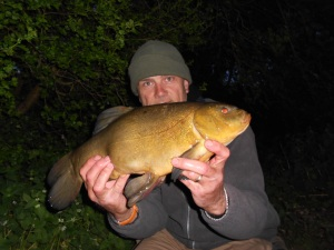 Off the mark with a dusk tench
