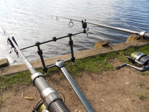 Rods out and the waiting game begins