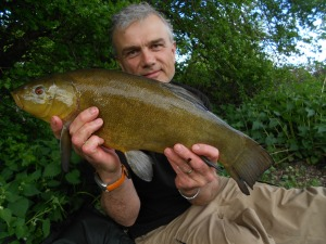Second tench of the session