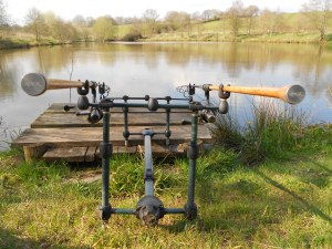 Rods out for session three
