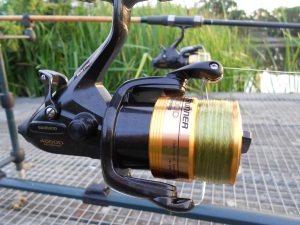My new reels get christened