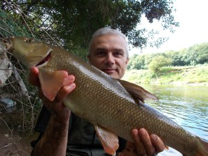 More than happy to bank this barbel