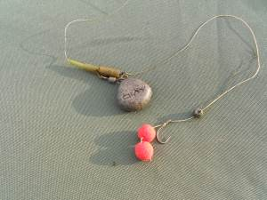 M2 boilies rig