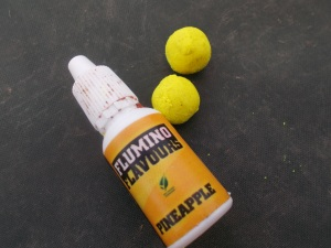 Soluble boilies and booster liquid