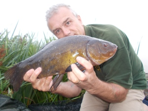 An early morning tench