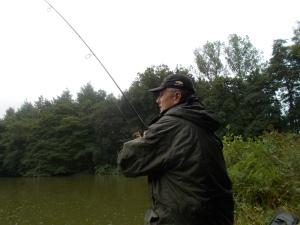 Playing a carp