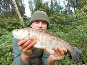The first chub of the week