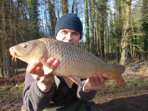 Nice to fish in sunshine for a change