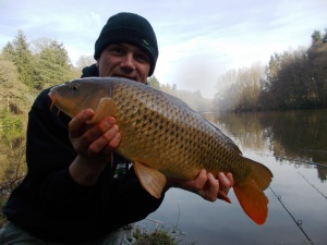 One on the bank from the Seggy