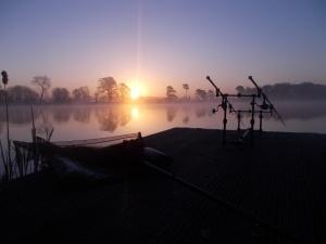 A brilliant sunrise - I love this picture
