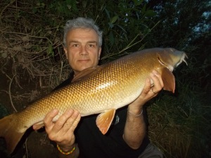 Just one barbel this week, but quality over quantity for sure