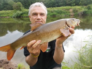 A summer barbel from the Severn