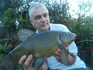 The final tench of the blog