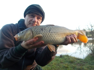 An early-morning common on the bank