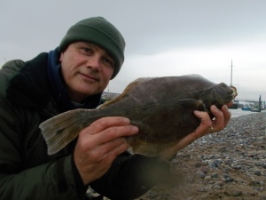 What I went for - a nice flounder