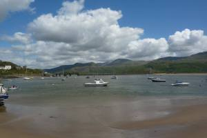 The Mawddach estuary in Merionethshire