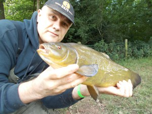 A tench from session two