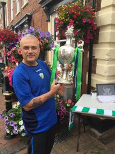 In Oswestry with the Welsh Cup