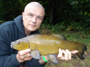 The only tench of the week