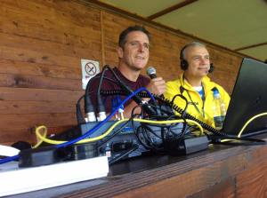 With Iolo Williams, the TV wildlife presenter