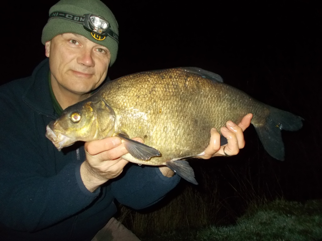 Just the one bream but a decent fish