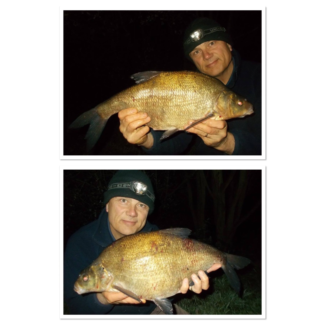 After two blanks it was great to get among the bream