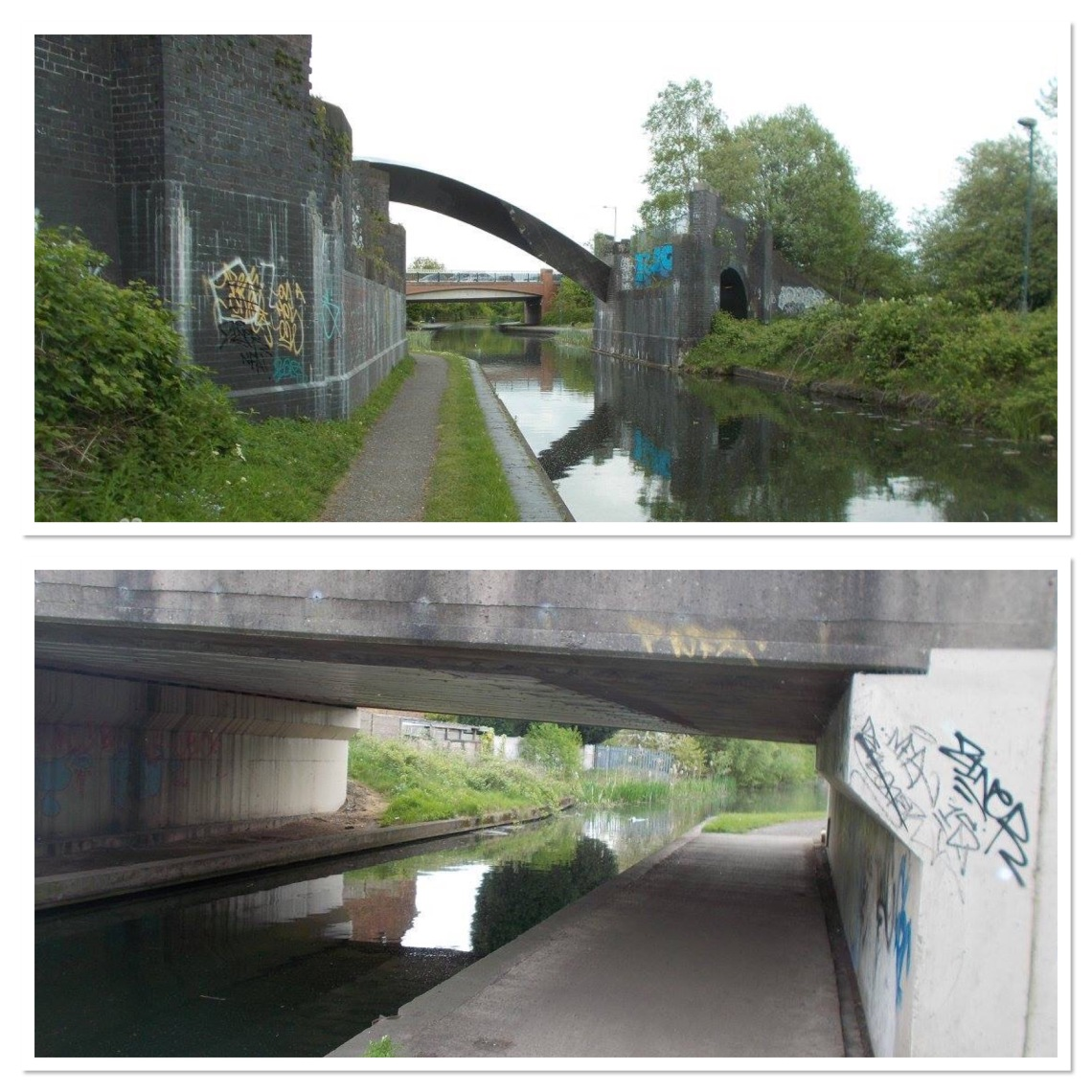 An urban canal session in Wolverhampton