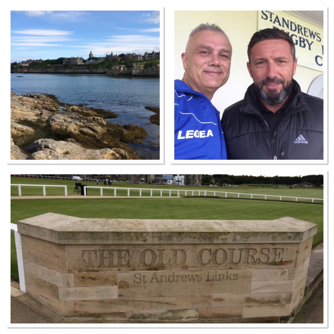 St Andrews, the home of golf and Derek McInnes