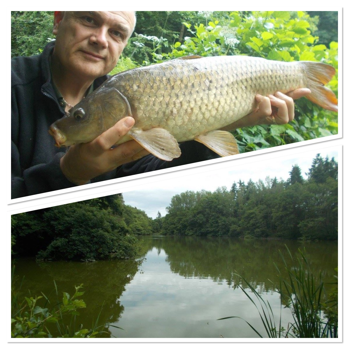 I haven't been carp fishing for a while - I enjoyed it