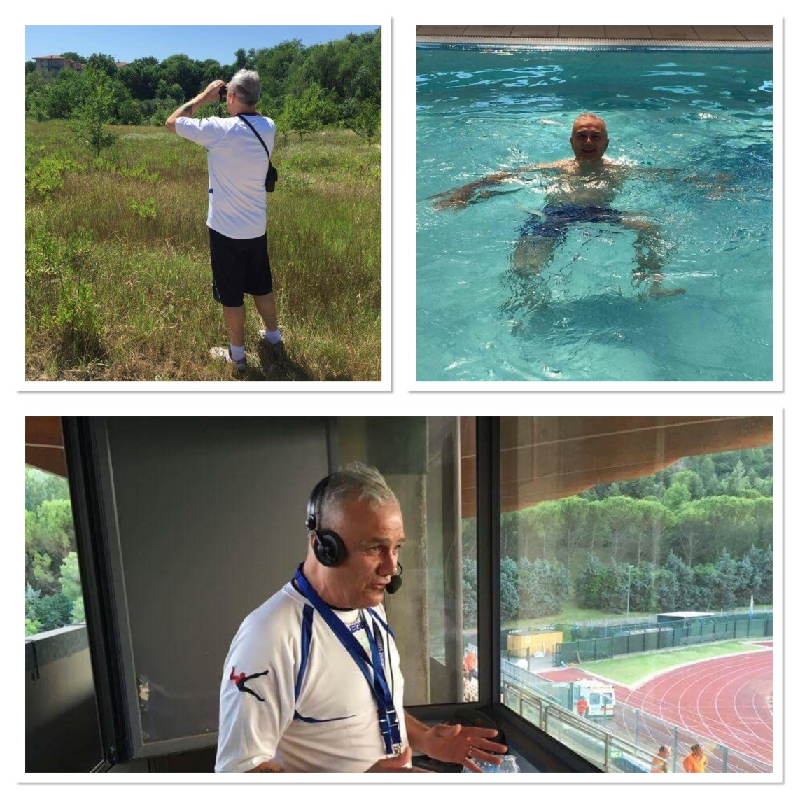 Birding, in the pool and on air with TNS Radio