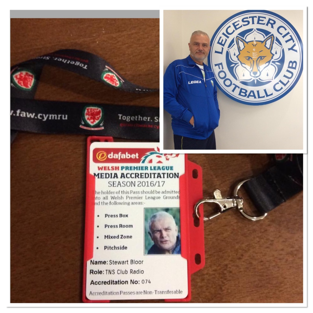 At Leicester City and my WPL press pass has arrived