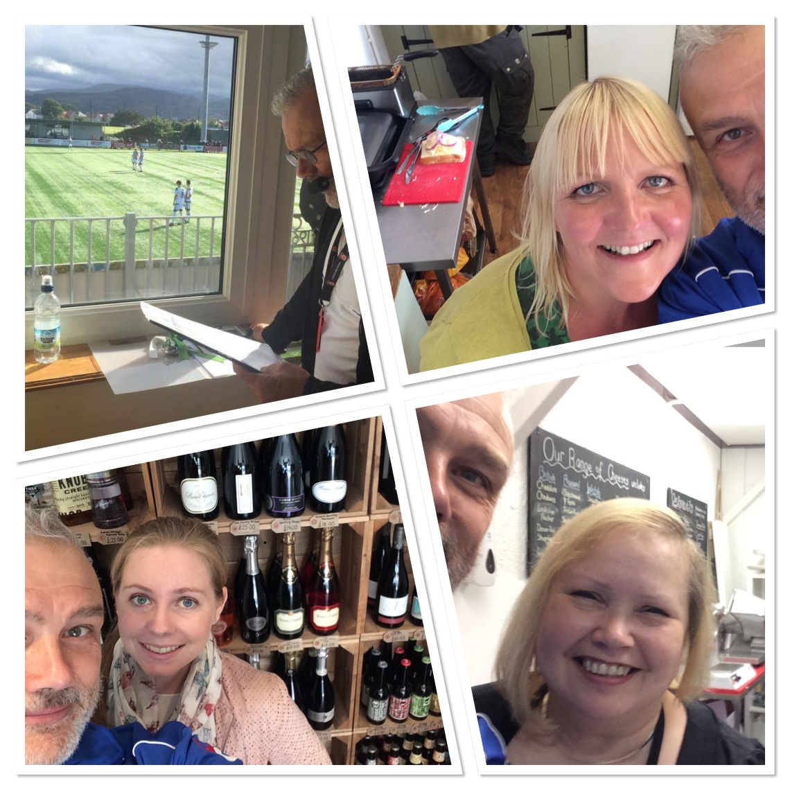 On air at Llandudno and selfies from the TNS Town Tour