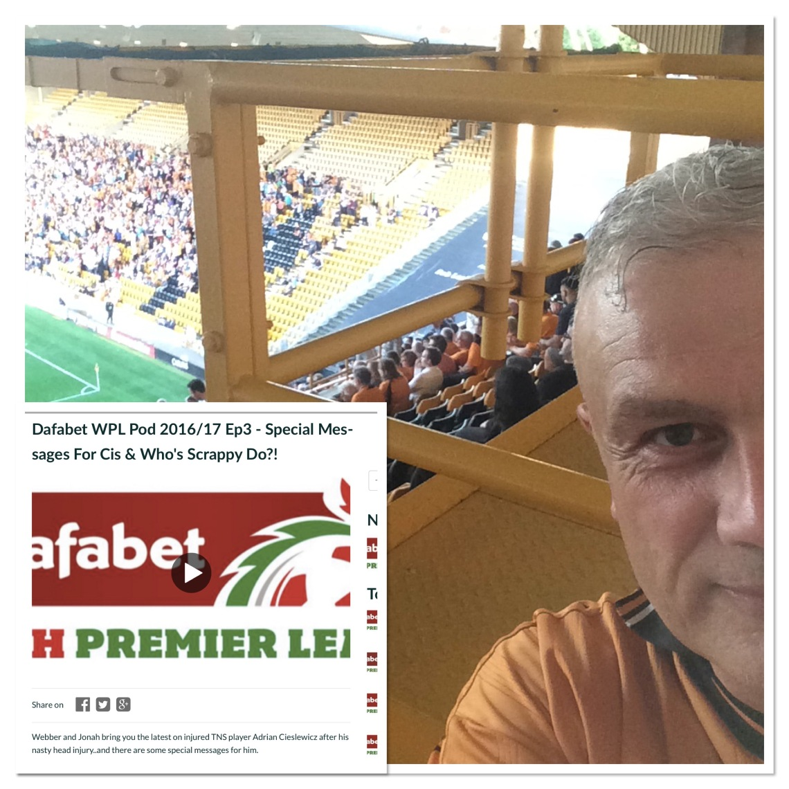 Back at Molineux and back on the WPL podcast
