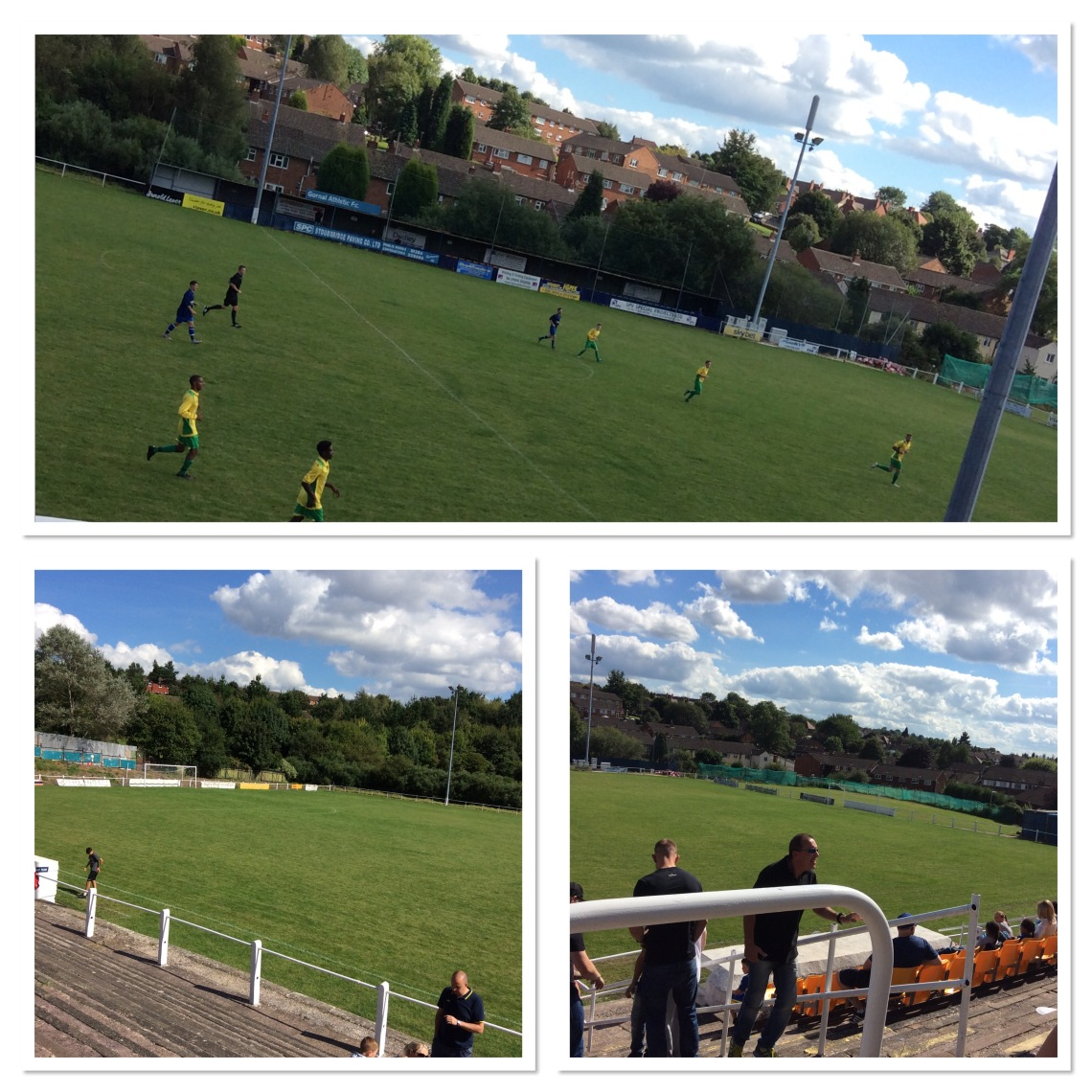The Bank Holiday, Black Country, Gornal v Dudley derby
