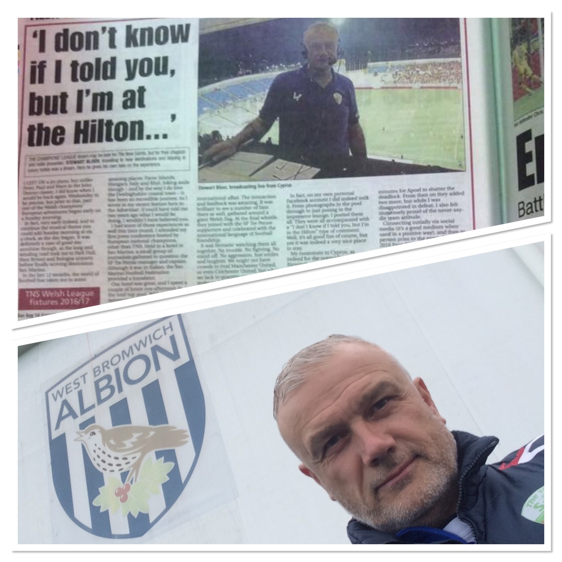 In print and at The Hawthorns