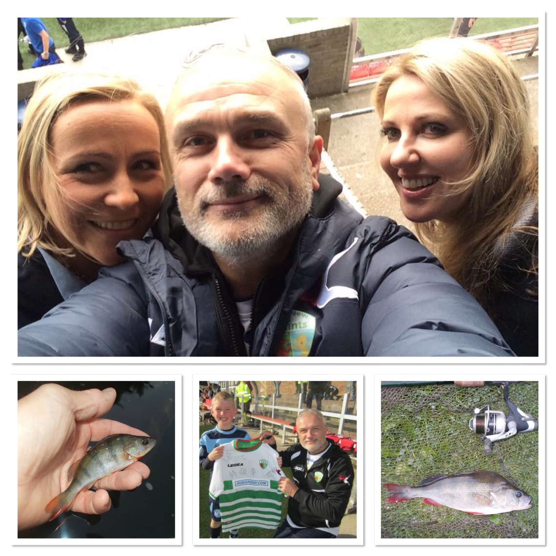 More fish and a couple of shots from the visit to Forfar Athletic, with Lesa and Ash