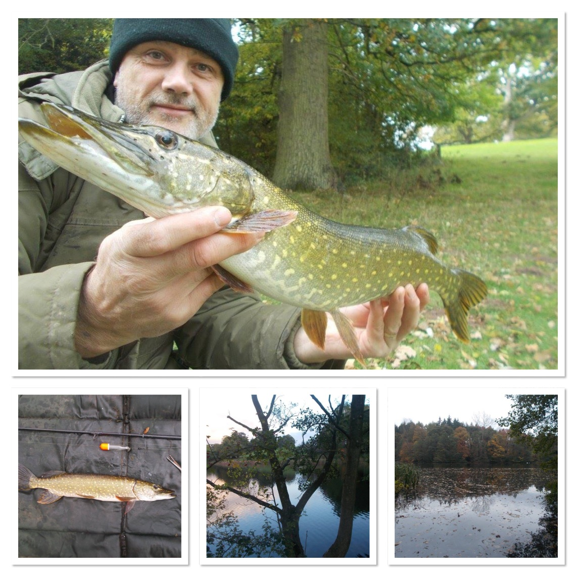 Pike fishing in Shropshire
