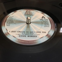 Adding Stevie Wonder's 'I Just Called To Say I Love You' To My Vinyl Collection. It Took Me Back To 1977. Growing Up In The Golden Years Of Soul Music.