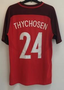 FC Midtjylland shirt worn by Mads Døhr Thychosen