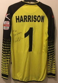 "Paul Harrison. ""To Rev, Best Wishes"""