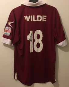 Mike Wilde. Signed on back.