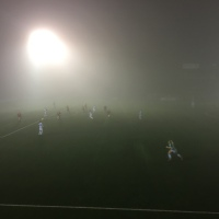 On A Very Foggy Evening At Park Hall, TNS Ladies Navigate The First Hurdle In The Tom Farmer Cup. It's A Convincing Win Come The Final Whistle.