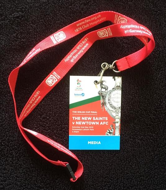 2. Welsh Cup final