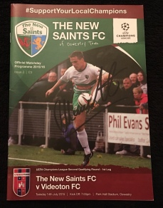 3. The New Saints FC v Videoton FC