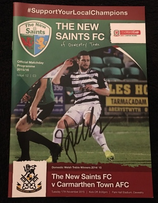 13. The New Saints FC v Carmarthen Town