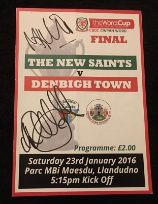 19. The New Saints FC v Denbigh Town