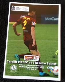 7. Cardiff Metropolitan University FC v The New Saints FC